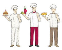 Chefs Royalty Free Stock Images