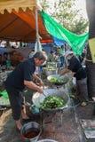 Chefs was prepare food. BANGKOK,THAILAND-DECEMBER 2 :The chefs was prepare food for free for the protesters on Ratchadumnoen road in Bangkok on December 2,2013 Stock Photo