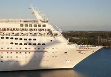 Chegada ao Bahamas Imagens de Stock