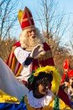 A chegada de St Nicholas Sinterklaas imagem de stock royalty free