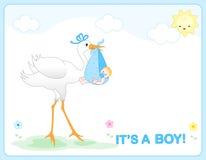 Chegada do bebé Imagens de Stock