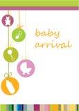 Chegada do bebê Fotografia de Stock