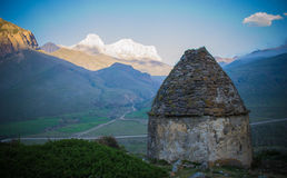Chegem. Ancient burial .dolmens in the Caucasus, where people buried their ancestors Stock Image