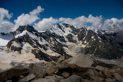 Cheget mount. Central Kavkaz, Russian mountains system Stock Photography