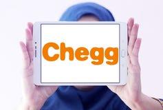 Chegg edukaci technologii firmy logo Zdjęcie Royalty Free