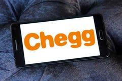 Chegg edukaci technologii firmy logo Obraz Royalty Free