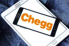Chegg edukaci technologii firmy logo Obrazy Stock