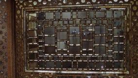 Chehel Sotoun mirror ceiling stock footage