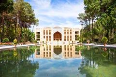 Chehel Sotoun (Sotoon) Palacein Esfahan, Iran Images stock