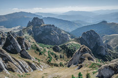 Cheia Mountains III. This picture was took in Cheia, Romania Royalty Free Stock Image