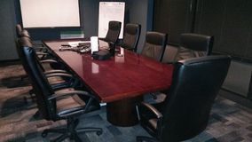 Cheif board room Royalty Free Stock Photo