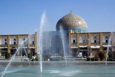 Cheik Lotfolla de mosquée Photographie stock libre de droits