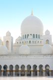 Cheik Zayed, EAU d'Abu Dhabi Photo stock