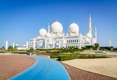 Cheik Zayed Grand Mosque Image stock