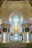 Cheik Zayed Grand Mosque images libres de droits