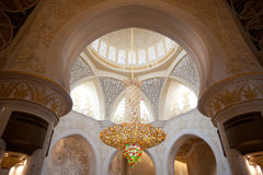 Cheik Zayed Grand Mosque Images stock
