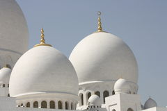Cheik Zayed Grand Mosque Photos stock