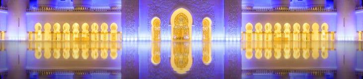 Cheik Zayed Grand Mosque Photos stock