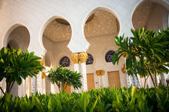 Cheik Zayed Grand Mosque Abu Dhabi Photographie stock libre de droits