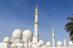 Cheik Zayed Grand Mosque Abu Dhabi photo libre de droits
