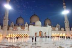 Cheik Zayed Grande Mosque Image stock