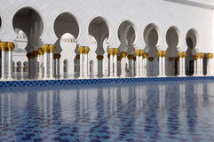 Cheik Zayed Mosque, Abu Dhabi Photos stock