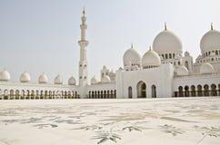 Cheik Zayed Mosque dans la ville de l'Abu Dhabi Photo stock