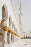 Cheik Zayed Mosque en Abu Dhabi Photo stock