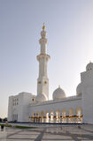 Cheik Zayed Mosque en Abu Dhabi Images libres de droits