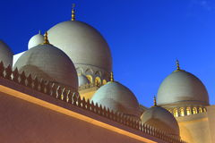 Cheik Zayed Mosque en Abu Dhabi Photos libres de droits