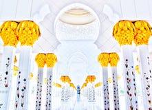 Cheikh zayed Абу-Даби Стоковые Фотографии RF
