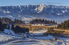 Cheile Gradistei Fundata winter resort, Romania Royalty Free Stock Photography