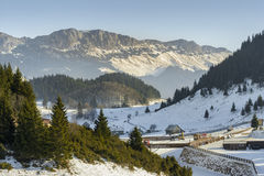 Cheile Gradistei resort, Romania Royalty Free Stock Image