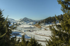 Cheile Gradistei resort, Romania Royalty Free Stock Images