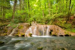 Free Cheile Nerei - Beusnita. Caras. Romania. Summer In Wild Romanian River And Forest. Long Exposure Stock Photography - 187626072