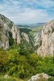 Cheile Turzii kanjon Royaltyfria Foton