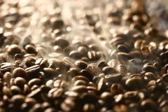 Cheiros de feijões de café Imagens de Stock Royalty Free