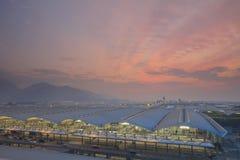 Chek Lap Kok Airport, Hong Kong Stock Images