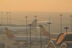 Chek Lap Kok Airport, Hong Kong Image stock