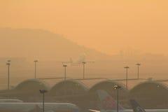 Chek Lap Kok Airport, Hong Kong Royalty Free Stock Images