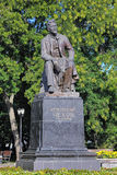 Chekhov Monument in Taganrog, Russia Royalty Free Stock Image