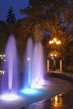 Chekhov square  in Yuzhno-Sakhalinsk. Sakhalin island. Russia.  Stock Images