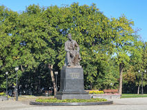 Chekhovmonument in Taganrog, Rusland Stock Afbeelding
