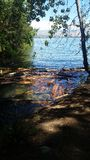 chelan озеро стоковые фото