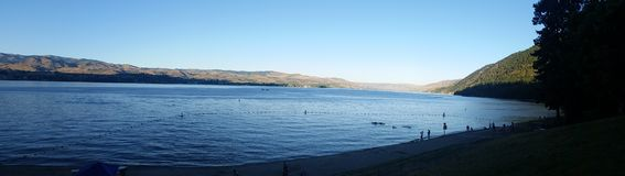 chelan jezioro Obraz Stock