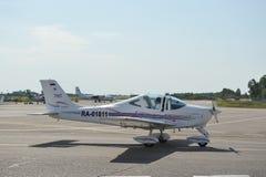 Chelavia  airplane Tecnam P-2002JF Stock Image