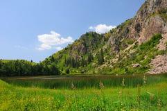 chelek λιβάδια λιμνών sary Στοκ Εικόνες