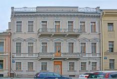 Chelishchev& x27; s-Villa in St Petersburg, Russland Lizenzfreie Stockfotografie