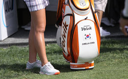 Chella Choi at the ANA inspiration golf tournament 2015 Stock Image
