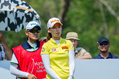 Chella Choi av Sydkorea i Honda LPGA Thailand 2016 Arkivbild